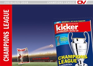kicker-Sonderheft - Champions League
