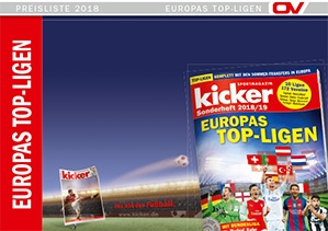 kicker-Sonderheft - Europas Top-Ligen