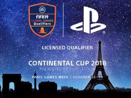 Die FIFA 19 eSport-Saison startet: Sony richtet den Continental Cup 2018 in Paris aus.