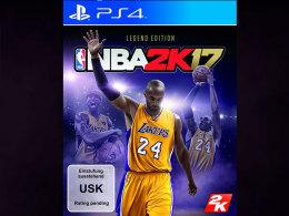 Das PS4-Cover zur NBA 2K17 Legend Edition.