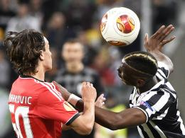 Paul Labile Pogba (re.), Lazar Markovic