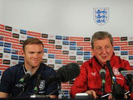 Wayne Rooney und Nationaltrainer Roy Hodgson