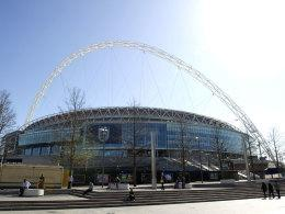Wembley-Stadion in London