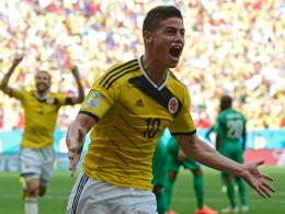 Brachte Kolumbien in die Spur: James Rodriguez.
