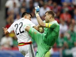 Mexikos Lozano vs. Russlands Akinfeev
