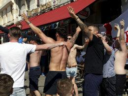 England-Fans in Marseille