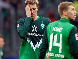 Per Mertesacker, Aaron Hunt (re.) - Werder Bremen