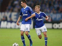 Julian Draxler und Lewis Holtby