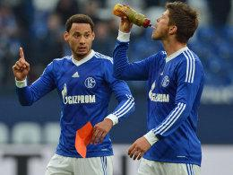 Jermaine Jones und Klaas Jan Huntelaar