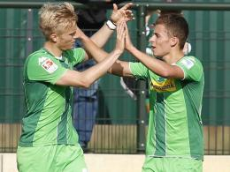 Oscar Wendt & Thorgan Hazard