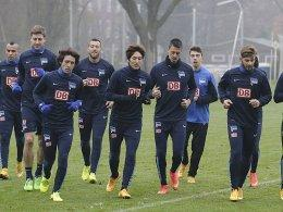 Training bei Hertha BSC