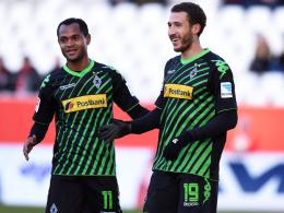 Raffael (li.), Fabian Johnson