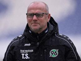 Hannovers Trainer Thomas Schaaf.