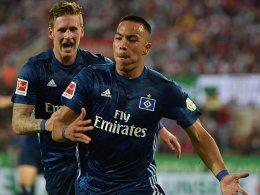 André Hahn (links) und Bobby Wood