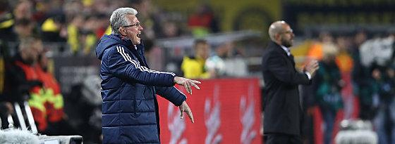 Jupp Heynckes, Peter Bosz (re.)