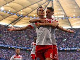 Lewis Holtby und Aaron Hunt
