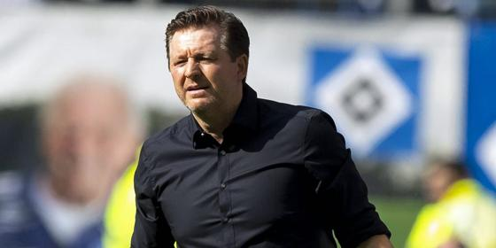 HSV-Trainer Christian Titz
