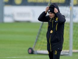 Thomas Tuchel im Training
