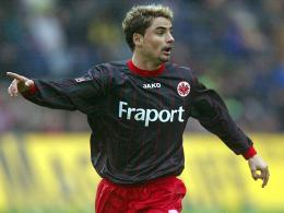 Ervin Skela 2004 im Eintracht-Dress