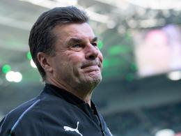 Gladbachs Trainer Dieter Hecking