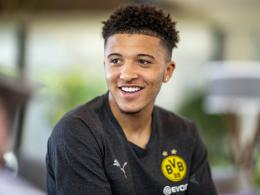 Jadon Sancho am Donnerstag in Marbella