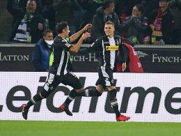 Lars Stindl (links) und Thorgan Hazard