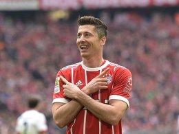 Dreierpacker: Robert Lewandowski.