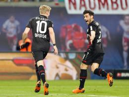 Kevin Volland (re.) und Julian Brandt