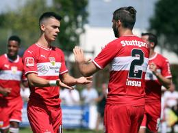 Erik Thommy und Emiliano Insua