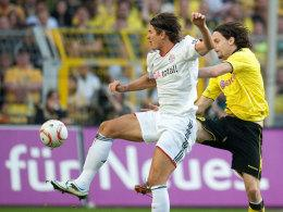 Mario Gomez (links) und Neven Subotic
