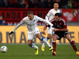 Fabian Johnson, Dominik Maroh (v.l.)