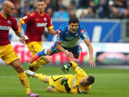 Elyounoussi stürzt über SCP-Keeper Kruse