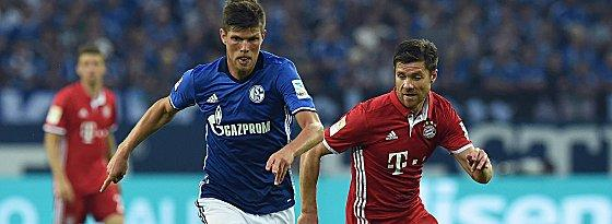 Klaas Jan Huntelaar und Xabi Alonso