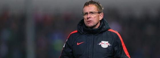 Vater des Erfolgs: RB-Trainer Ralf Rangnick.