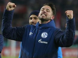 Mark Uth jubelt in Köln