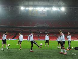 DFB-Team in Wembley