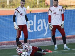 David de Gea, Iker Casillas & Kiko Casilla