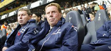 Spurs-Coach Harry Redknapp