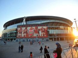Das Emirates Stadium des FC Arsenal