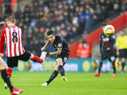 Philippe Coutinho trifft in Southampton