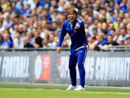 Antonio Conte im Community Shield