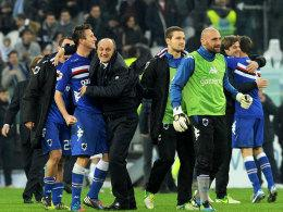 Sampdoria jubelt in Turin