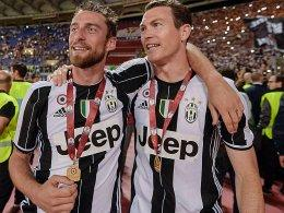 Claudio Marchisio (links) und Stephan Lichtsteiner