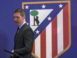 Atletico-Trainer Diego Simeone
