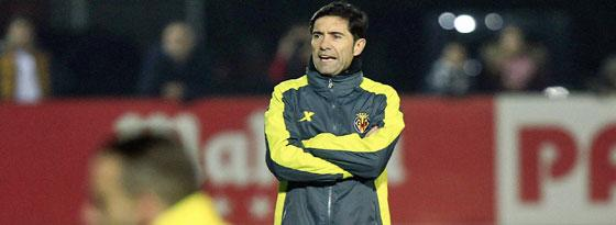 Villarreals Coach Marcelino.