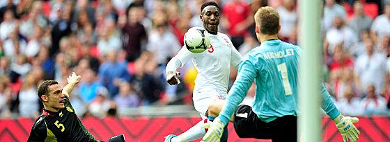 Danny Welbeck trifft