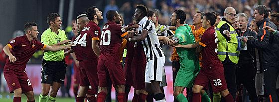 Juventus Turin vs. AS Rom