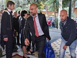 Wieder in Rom: FCB-Coach Pep Guardiola.