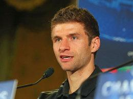 Bayerns Offensivspieler Thomas Müller.