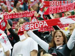 RB-Leipzig-Fans in der Champions League